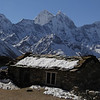 Kangtega 6782m and more 5000m height mountains