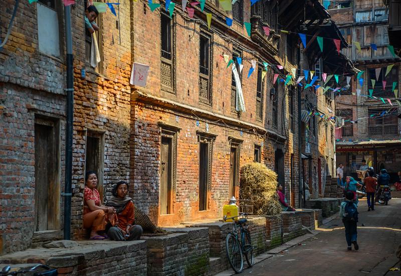 Streets of Katmandu, Nepal