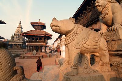 Bhaktapur, Nepal (outside Kathmandu).