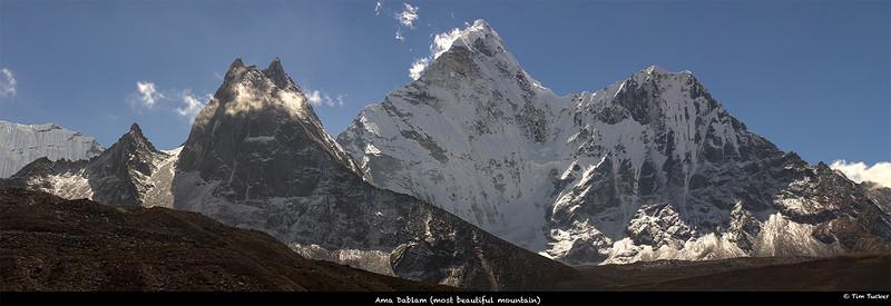 Ama Dablam, Himalaya, Nepal.