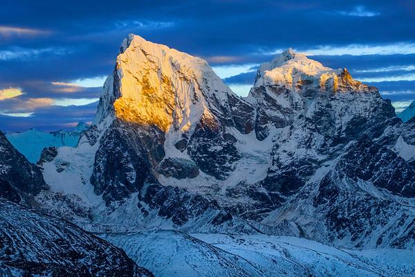 Khumbu sunset