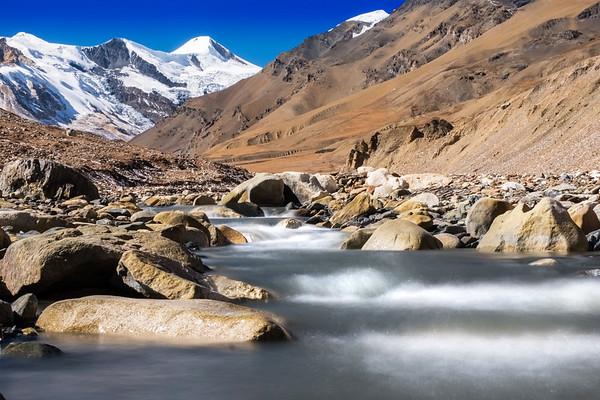 Glacial river..