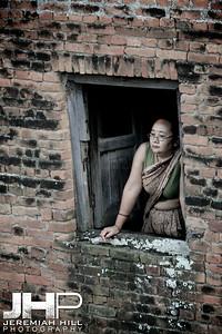 """The Woman In The Wall"", Kathmandu, Nepal, 2007 Print IND31014-075"
