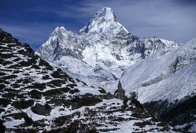 Ama Dablam.  Everest region of Nepal