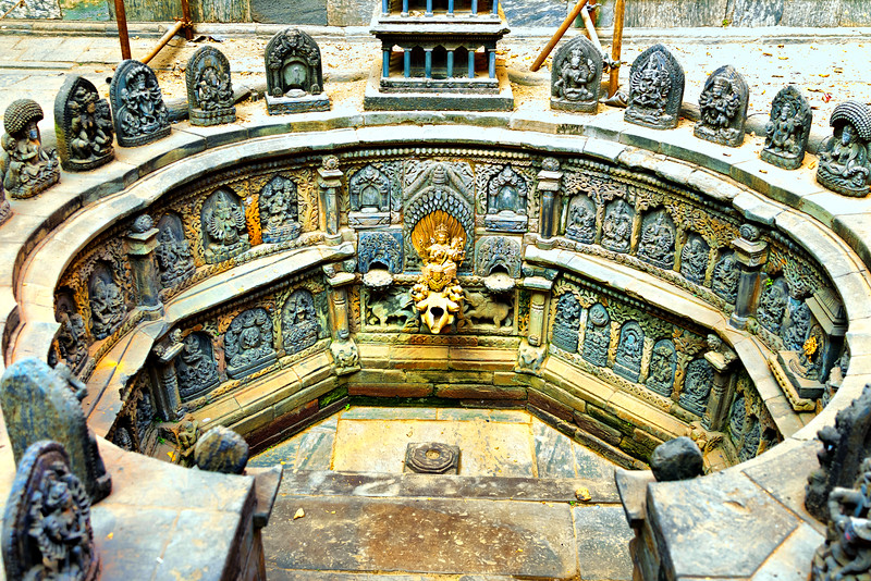 Royal Bath, Patan Durbar Square, Nepal