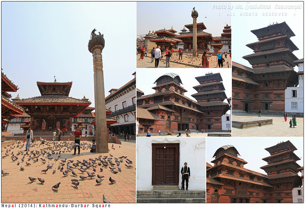 Basantapur Durbar, also called Kathmandu Tower, is a nine-storeyed tower built in 1770. One of Durbar square's charms.
