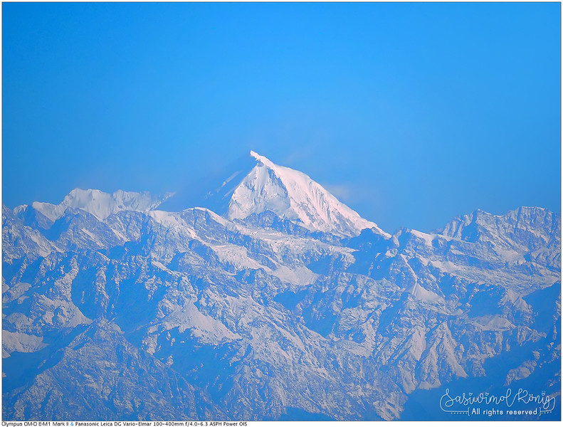 The Himalayan range.. the endless view