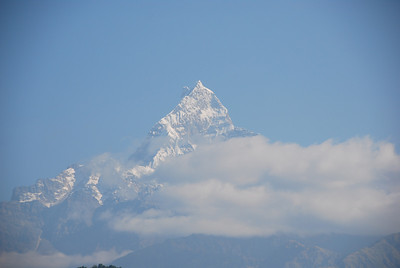 058 - First sight of the Machapuchare