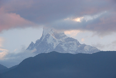 093 - Machapuchare in sunrise