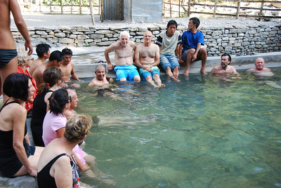 307 - The hot springs in Tatopani
