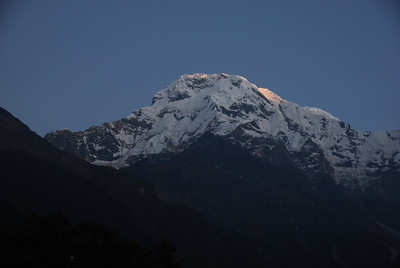 132 - Sunrise on Annapurna South