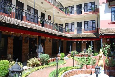 002 - Our hotel in Khatmandu