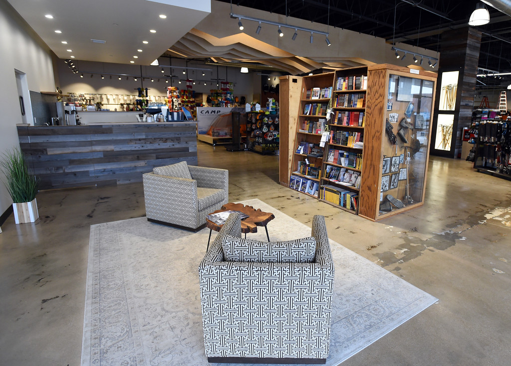 . There is a cafe and coffee bar at the store. Neptune Mountaineering in Boulder is getting a complete makeover. For more photos, go to dailycamera.com.com. Cliff Grassmick  Photographer January 30, 2018