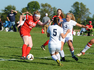 Kristin Curley (26) takes aim at the goal.