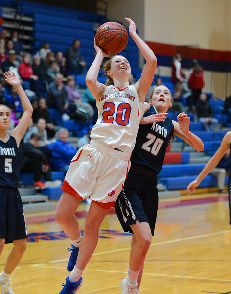 Brooke Mullin (20) scored ten for Neshaminy.