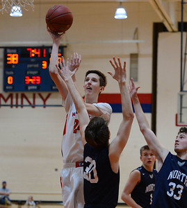 Danny Bodine (24) scored 15 points for Neshaminy.