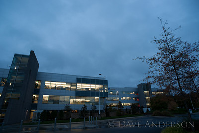 RTP Buildings at dawn