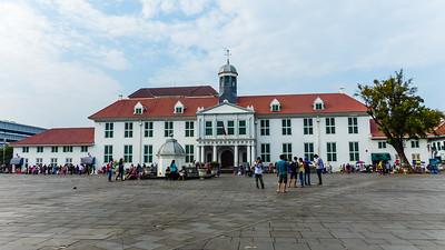 Jakarta het Fatahillah plein