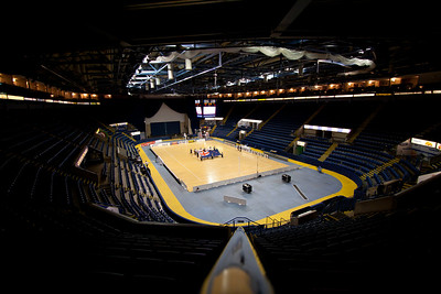 The Capital FM Arena, venue for the 2nd of 3 matches as part of the FIAT International Netball Test Series between England & New Zealand at the Capital FM Arena, Nottingham on 17th January 2011