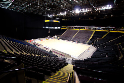 The MEN Arena, venue for the 1st of 3 matches as part of the FIAT International Netball Test Series between England & New Zealand at the MEN Arena, Manchester on 15th January 2011.