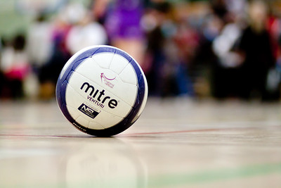 England Netball Mitre Venturi Ball for the Cooperative Netball Superleague