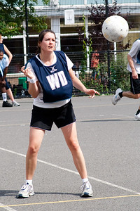 Action from The Mixed Netball Association Annual tournament that took place on Saturday 7th July 2007 at Twycroft school in Ealing