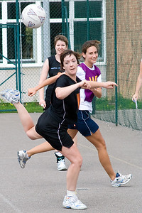 Action from Salisbury & District Netball Association Annual netball tournament, which took place on Saturday 28th July 2007