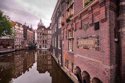 18th Century Buildings, Amsterdam, Netherlands