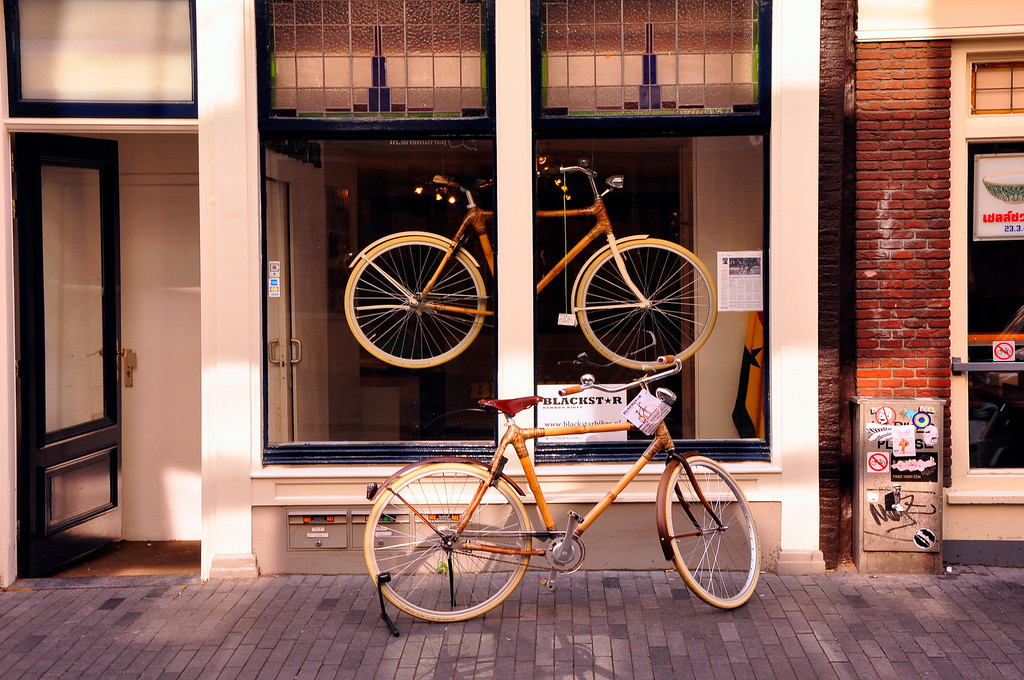 Bicycle shop, Amsterdam, Netherlands