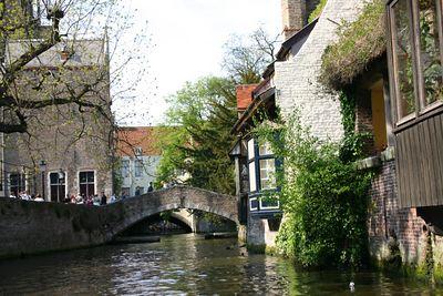 Bridge of St. Boniface, Bruges, Belgium.