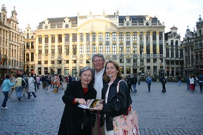 Brussels Market Square- La Maison Des Ducs De Brabant  - group of 6 guild houses