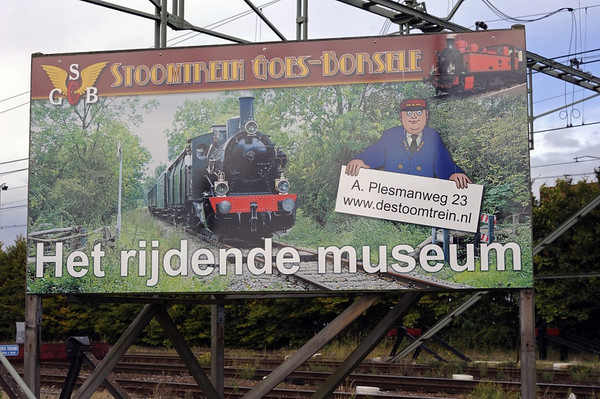 Welcome to the Goes-Borsele Steam Railway!  Mon 9 September 2013 1