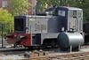 Stoomtram Hoorn Medemblik 0-4-0DH No 35 Griezel, Hoorn, Fri 6 September 2013.  Class V228 built at Balbelsberg by Karl Marx Works (262 555 / 1975).