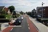 Level crossing, Zwaag, Fri 6 September 2013.  One of many crossings on the Medemblik line.