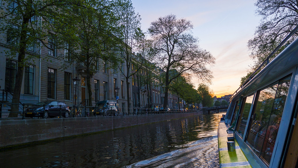 Weekend Getaways in Europe: Amsterdam, Netherlands Canal