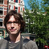 Yann in downtown Amsterdam