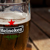 Heineken in an Amsterdam cafe