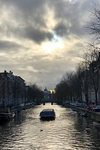Canal Boat, Amsterdam, Netherlands