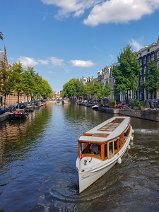 Boat ride on Amsterdam Canal