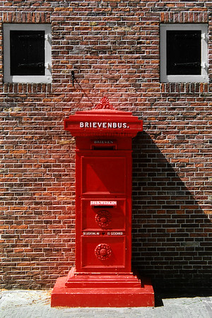 Holland - Alkmaar - Postbox