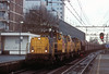Heading east through Tilburg with another load of iron ore on 6 February 2008 are Railion 6455, 6503 and 6456