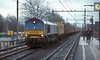 Train 40104 from Melzo to Europort Rotterdam passes through Tilburg West on 5 February 2008 behind ERS 6617