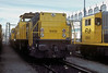NS 6409 had received its 'Herman' name - seen above the cab window - when stabled awaiting its next job at Zwolle on 22 February 1990