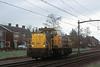 Railion 6441 runs light engine through Gilze-Rijen on 6 February 2008