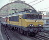 NS 1615 is seen leaving Amsterdam Central on 3 November 1993