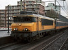 NS 1760 arrives at Tilburg with a push-pull service to Nijmegen on 6 February 2008
