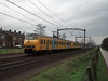 Heading to their final destination of Breda NS Plan V units 811 and 830 are leaving Gilze-Rijen on 6 February 2008
