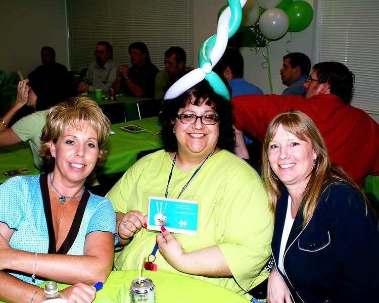 Jennifer Rasco,  Marlena Elias, Lisa Strunk