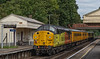 37057 top & tail with 37219 passing through Wanborough with 1Q54, <br /> the 12:46 Eastleigh Arlington - Tonbridge West Yard, on 2nd September 2021.