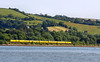 43062 heads north along the River Teign with the New Measurement Train, forming the:<br /> 1Q19 10:01 Plymouth to Paddington<br /> <br /> 27/07/12